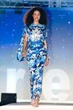 Modeshow van de Weg van Saks de Vijfde Royalty-vrije Stock Afbeelding