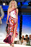 Modeshow van de Weg van Saks de Vijfde Royalty-vrije Stock Foto