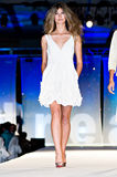 Modeshow van de Weg van Saks de Vijfde Royalty-vrije Stock Foto's