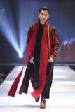 Modeshowen av ` Vientiene ÖVERRASKAR modevecka2017 `, royaltyfri bild