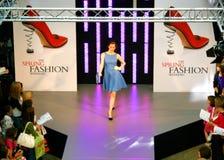modeshowfjäder Royaltyfria Bilder