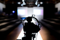 Modeshowstadium Stock Foto's