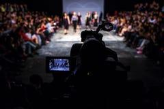 Modeshowuitzending Stock Afbeeldingen