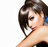 Modeskönhetflicka Arkivfoton