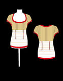 modeskjorta Arkivbild