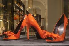 Modeskon ställer ut skärmshoppingdetaljhandel Royaltyfri Bild