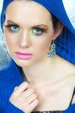 modesminkkvinna Royaltyfri Bild