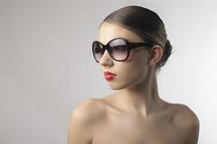 modesolglasögon Arkivfoto