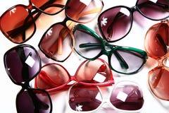 modesolglasögon Fotografering för Bildbyråer