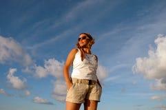 modesommar Fotografering för Bildbyråer