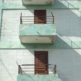 Modest Balconies Immagini Stock