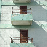 Modest Balconies Stock Images