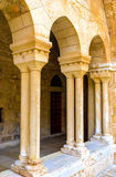 The modest columns Royalty Free Stock Photos
