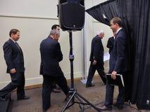 MODESTO, CA CZERWIEC 02, 2016: Kandyday na prezydenta, Bernie Sande Zdjęcie Stock