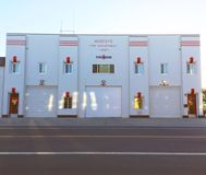 Modesto Firehouse Number One stock images