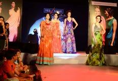 Modetrend i Indien Arkivfoton