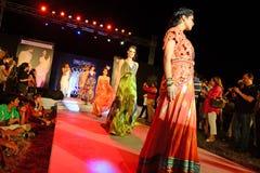 Modetrend i Indien Arkivfoto