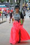 Modeveckan, spring 2013 utomhus royaltyfri fotografi