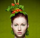 modevegetarian Royaltyfri Fotografi