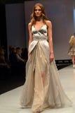 Modewochenshow Stockbild