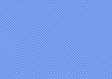 Modezickzackmuster in der blauen Farbe Lizenzfreie Stockfotografie