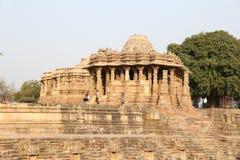 Modhera słońca świątyni kompleks fotografia royalty free