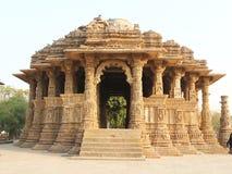 Modhera Sun Tempel Stockfotos
