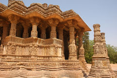 Modhera Sun Temple Royalty Free Stock Photo