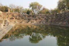Modhera Sun Temple Complex Stock Photo