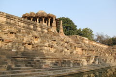 Modhera Sun Temple Complex Royalty Free Stock Photo