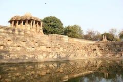 Modhera Sun Temple Complex Stock Image