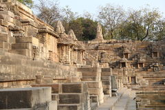 Modhera Sun Temple Complex Royalty Free Stock Photos