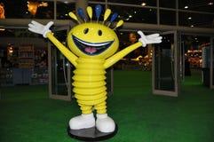 Modhesh - mascota de las sorpresas del verano de Dubai Imagen de archivo libre de regalías