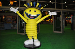 Modhesh - mascotte delle sorprese di estate della Doubai immagine stock libera da diritti