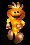 Modhesh op licht: Mascotte van de Verrassingen van de Zomer van Doubai Royalty-vrije Stock Afbeeldingen