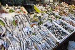 Modiano Market Thessaloniki Fish Stock Image