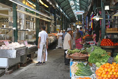 Modiano Market Thessaloniki Royalty Free Stock Photo