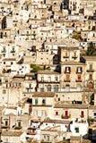 modica老西西里岛城镇 免版税库存图片