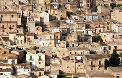 modica西西里岛 免版税库存图片