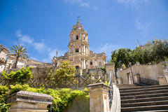 Modica cathedral, Sicily Stock Images