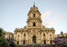 Modica cathedral,  Sicily Stock Photos