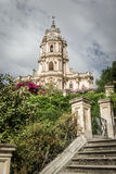 Modica, the cathedral Royalty Free Stock Photography