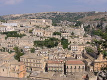 Modica cityscape Royalty Free Stock Image