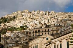 Modica cityscape, Sicily Stock Photos