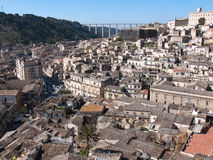 Modica Downtown, Italy Royalty Free Stock Photo