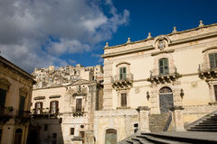 Modica, Italië Royalty-vrije Stock Foto