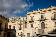 Modica, Italien lizenzfreies stockfoto