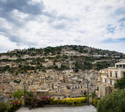 Modica, overview Royalty Free Stock Photo