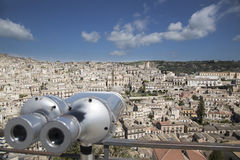 Modica panoramic Royalty Free Stock Images