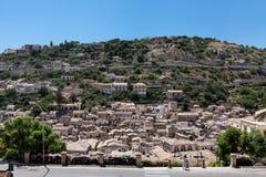Modica Ragusa Sicilien, Italien Arkivbilder